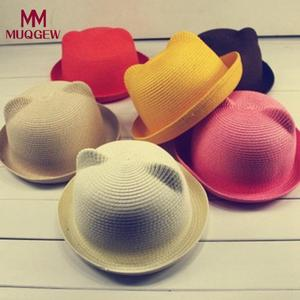 e268b9d5c34 MUQGEW Baby Hats For Girls Boys Children Summer Kids Caps