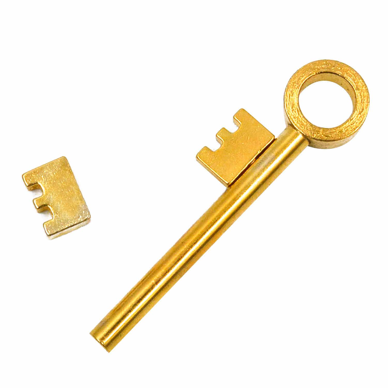 Mystery Magic реквизит для фокусов золотой ключ магнитное кольцо для фокусов через бутылку или кольцо проникновение легко перемещающийся слайдер детей