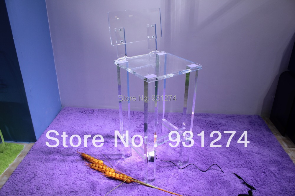 Free Shipping Folding Modern Acrylic bar chairs bar stools Fashion bar furniture New design club home stool