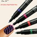 Beau Gel Nail Art Pen for 3D Nail Art DIY Decoration Nail Polish Drawing Pen Set 3D Design Nail Beauty Tools Paint Pens