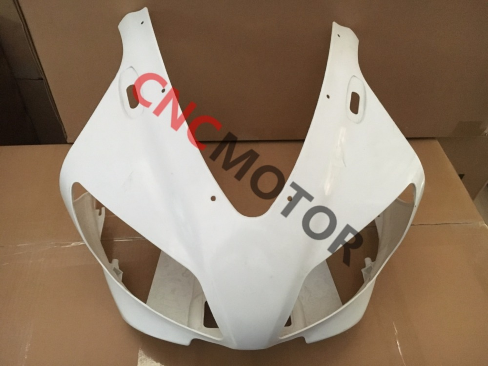 Unpainted ABS Plastic Front Upper cowl nose Fairing for YAMAHA YZF R1 1998-1999 unpainted abs plastic front upper cowl nose fairing bodywork for yamaha yzf r6 r600 1998 2002 1999 2000 2001