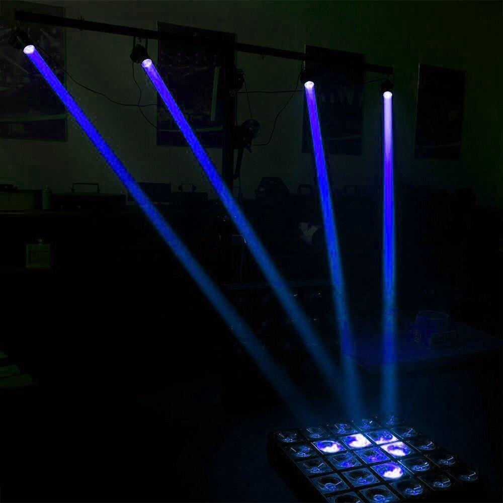 Светодиодный сценический луч светильник мини принадлежности для свадебных церемоний диско вечерние луч Точечный светильник диско светильник лазерный проектор для сценического освещения Smart Dj оборудование - Цвет: Blue