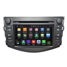 7 Inch Android 5.1 Quad Core HD1024*600 Car DVD Player For Toyota For RAV4 2006-2012 With Free 8GB MAP Card Multimedia Player