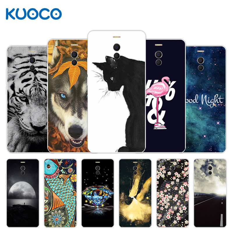 US $1 08 46% OFF|for Meizu M6 Note/Blue Charm Note 6 Note6 Case For Meizu  M6 Note 5 5 Tiger Design Cases Soft Silicone Cover For Meizu M6Note-in  Phone