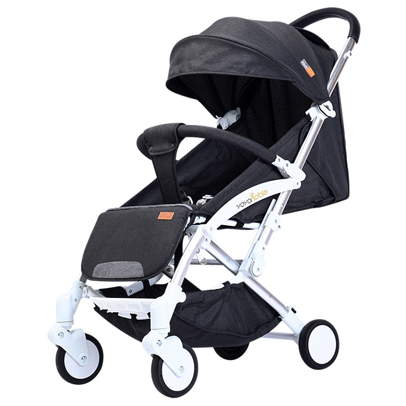 2019 New Automatic Light-weight Cart, Lightweight Folding, Sitting And Reclining, Automatic Folding, 0-5 Years Old Baby Carriage