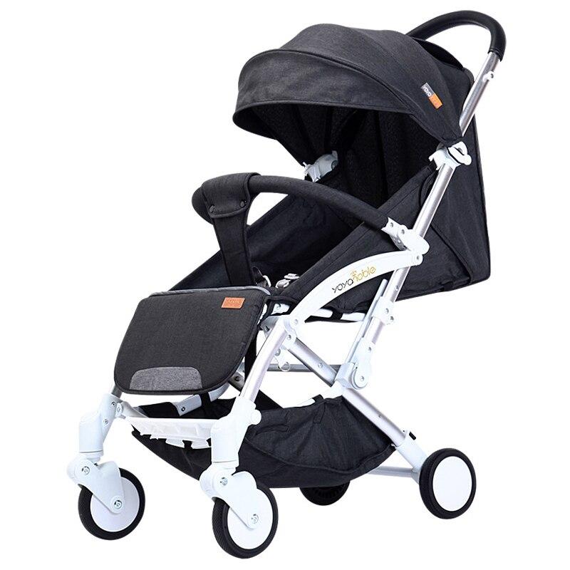 2019 nouveau chariot automatique léger, léger pliant, assis et inclinable, pliage automatique, 0-5 ans chariot de bébé