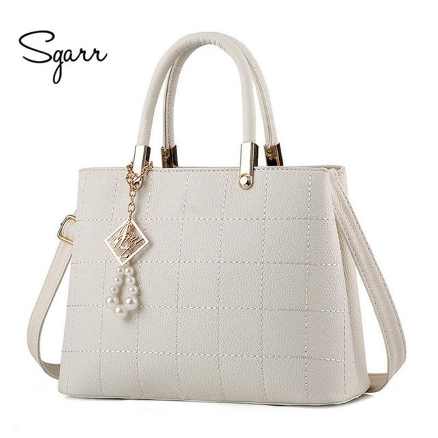 269ea1c44081 Женская сумка мода 2019 роскошные сумки женские знаменитые дизайнерские брендовые  сумки на плечо женские кожаные сумки
