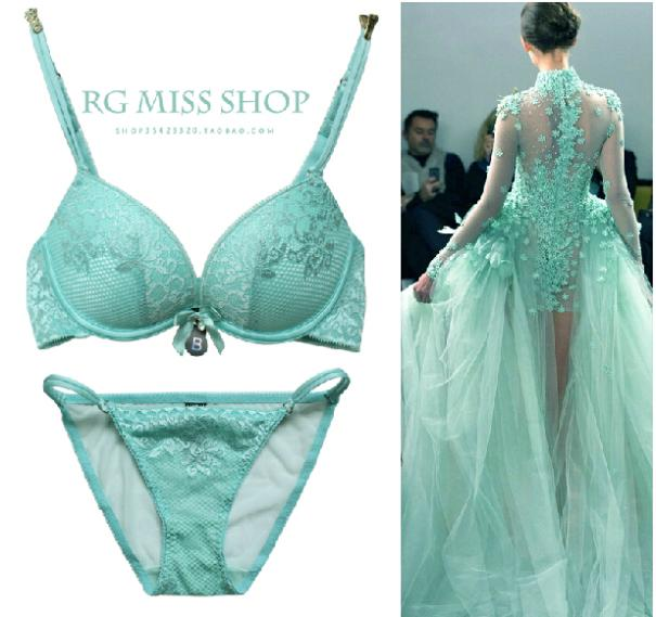 b5b4594f4 New Canada Top Brand Beautiful Lace Underwear Women Bra Set Bra   brief Sets  VS Push Up Bra and Panty Set BS195-in Bra   Brief Sets from Women s  Clothing   ...