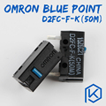 5pcs/lot Free shiping OMRON Micro Switch Microswitch D2FC F K 50m for Mouse Microswitch Next Generation of D2FC F 7N 20m|Keyboards|Computer & Office -