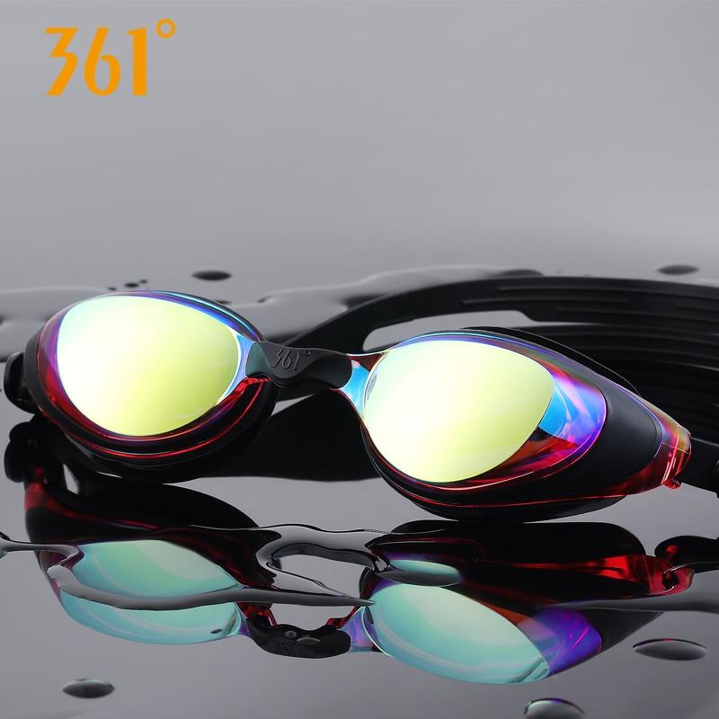Image 2 - 361 gafas de natación miopía hombres y mujeres adultos HD impermeable Anti niebla prescripción gafas de natación equipo deportivoGafas de natación   -