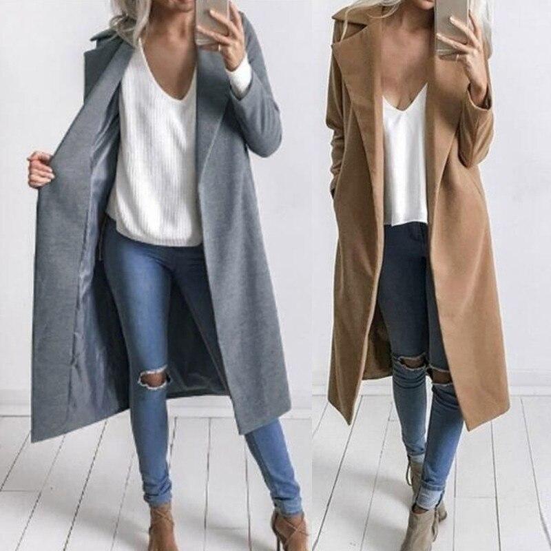 Women Coat and Jacket Sale Womens Ladies Solid V-Neck Cardigan Long Sleeve Coat Pockets Outerwear Winter Warm Overcoat Long Hooded Jacket Parka Outwear UK Size