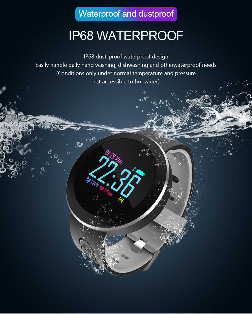 Smart Watch ECG+PPG Smart Fitness Band Heart Rate Monitor