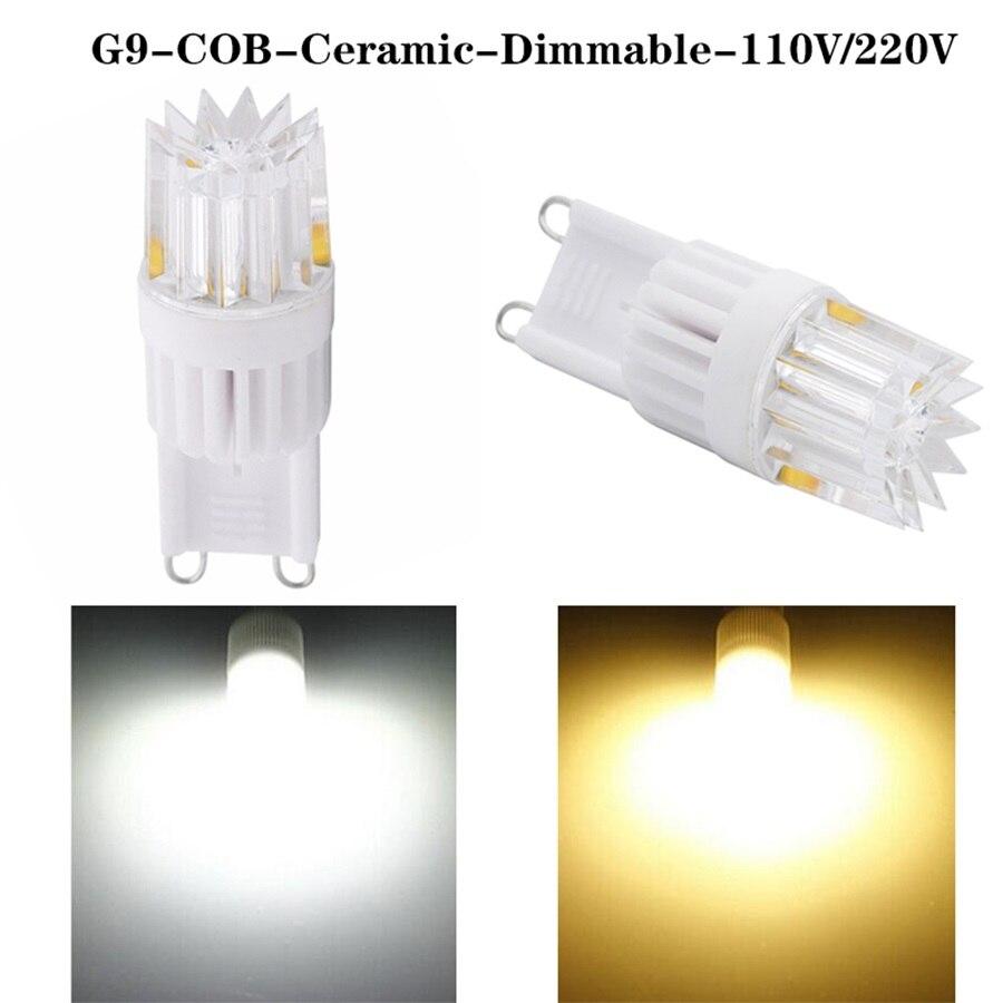 buybay g9 ceramic cob led lighting ac 110v 220v mini g9 led lamp crystal chandelier spotlight. Black Bedroom Furniture Sets. Home Design Ideas