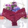 Sexys Women's Brazilian Briefs Lace Panties Transparent Ladies Underwear Seamless Bragas Calcinha Intimates Underpants Plus Size