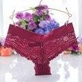 Sexys brasileiro das mulheres cuecas de renda calcinhas bragas senhoras transparentes underwear sem costura calcinha intimates cuecas plus size