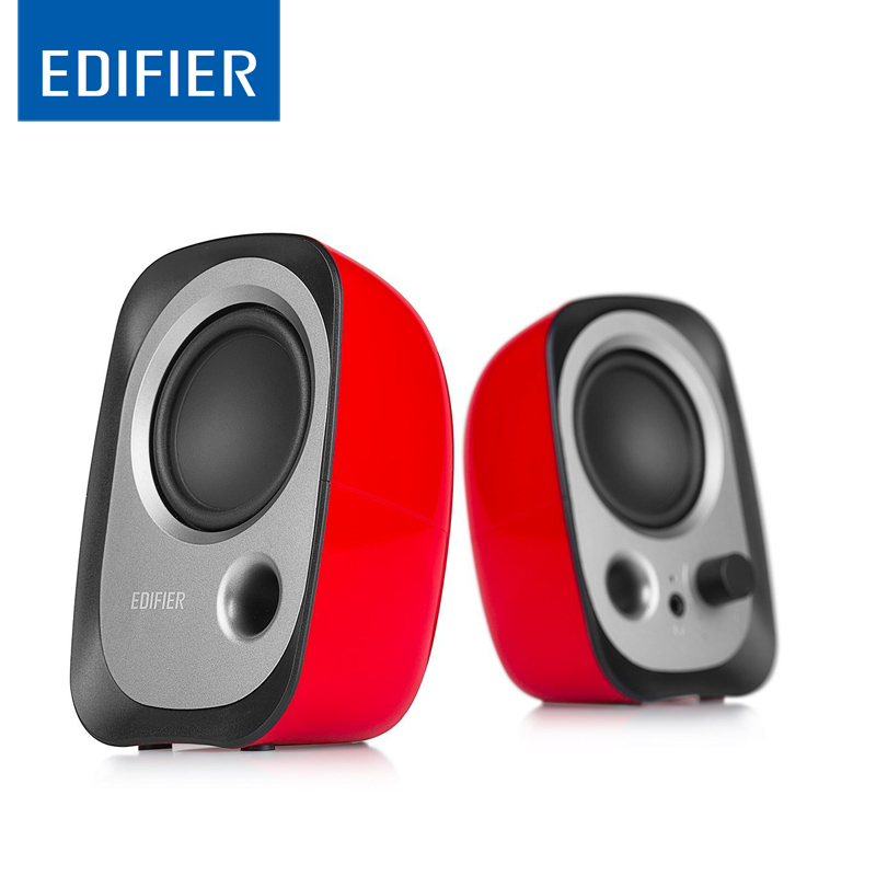 EDIFIER Speaker Mini Studio-Monitor Computer Bass-Stress Elevation-Design Small Portable