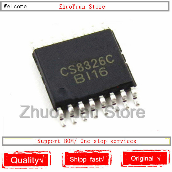 10PCS/lot CS8326C CS8326 TSSOP-16 New Original IC Chip