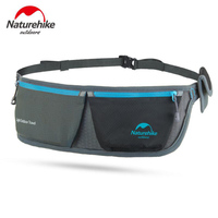 Naturehike Running Sports Bag Men Women Travel Pouch Zippered Waist Compact Security Money Waist Belt Bag