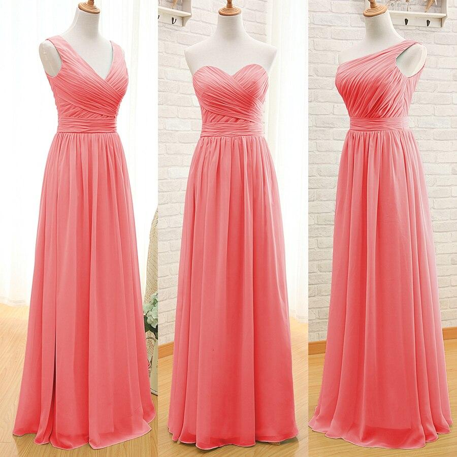 B31 Cheap Stock Plus Size Wedding Party Dress A Line Chiffon Mint ...