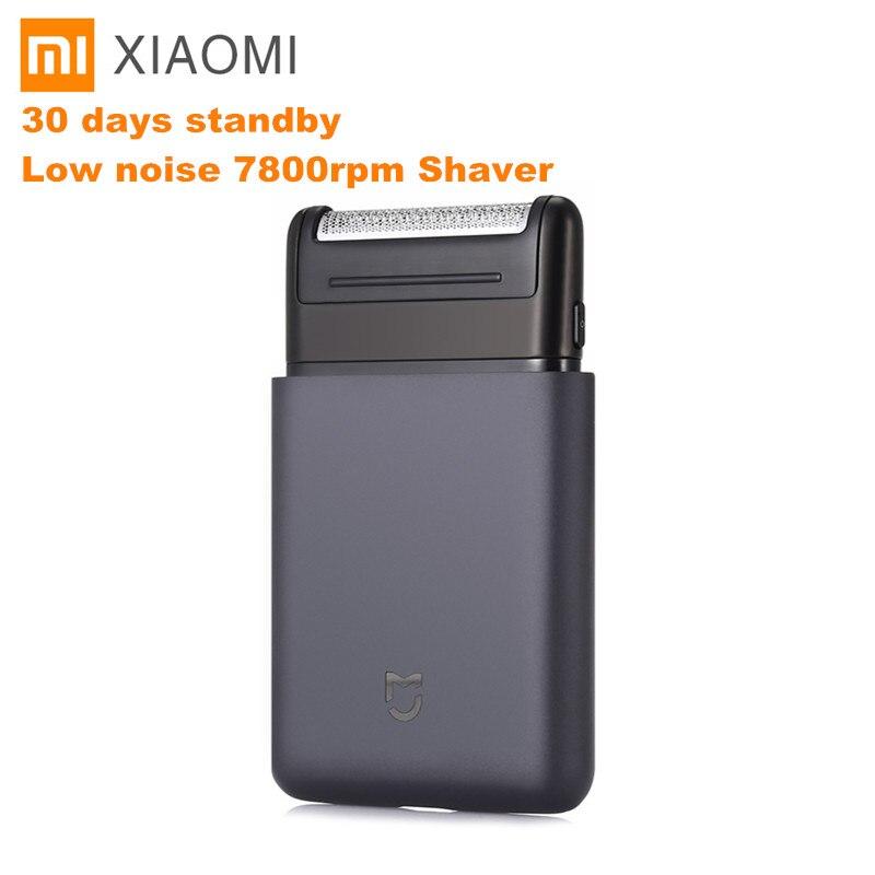 Xiaomi mi jia Portable Électrique Rasoir USB Rechargeable 60HRC Japon Acier Mens Voyage Pour xiaomi mi maison intelligente