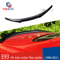 E93 M4 Style Carbon Fiber Rear Spoiler Trunk Wing for BMW 3 Series E93 2 door Cabriolet 2006   2013 318i 320i 328i 330i 335i|Spoilers & Wings| |  -