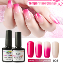 Nail Polish Temperature Change Nail Color UV Gel Polish Gradient Nail Gel for Nail gel polish