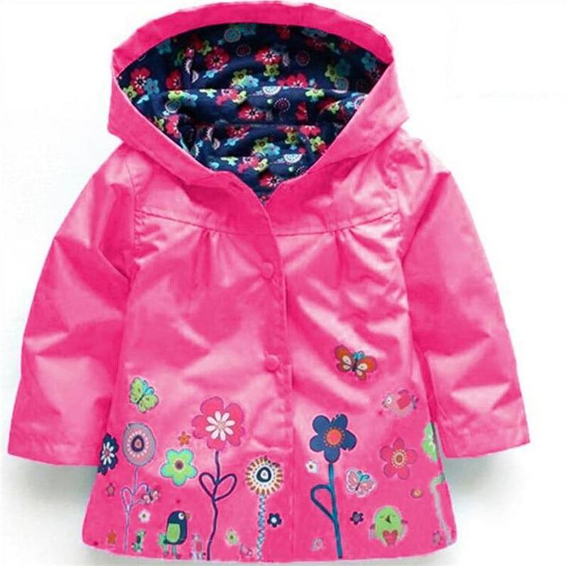 Children Hooded Jacket Girls Jackets Coats font b Children s b font Coat Spring Fashion Children