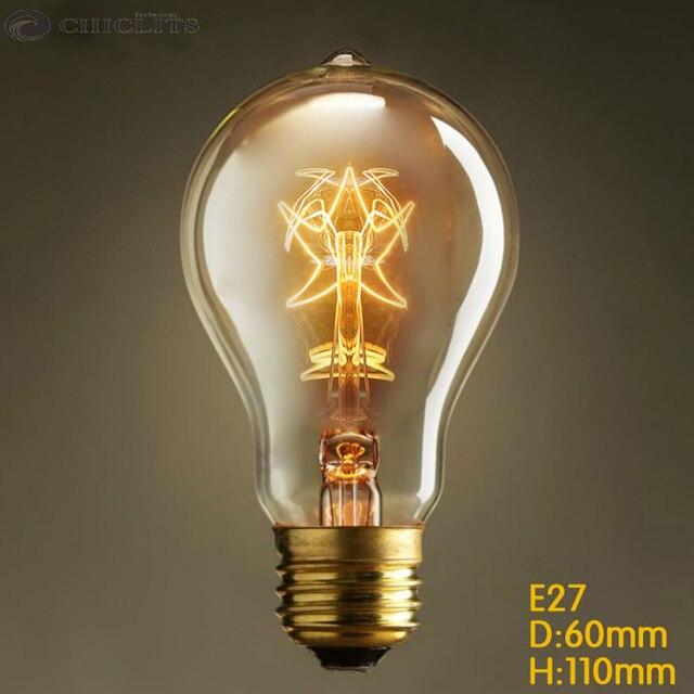 Awesome Ampoule Vintage Edison Light Bulbs 40W 220V E27 Filament Lamp Bulb Warm  Yellow A19 Edison Incandescent Nice Design