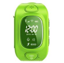 Kids GPS watch Mini gps Tracker Watch with wifi Waterproof SOS GSM phone Android&IOS Anti Lost Smart Watch green/ red/ blue