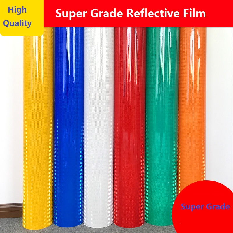 Super GradeTraffic High-strength Reflective Membrane Road Signs Reflector Car Warning Sticker