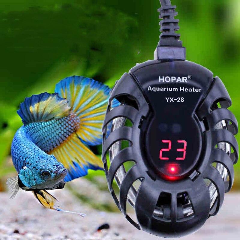 25 W 50 W 75 W 100 W Aquecedor de Aquário Barras de Aquecimento Elétrico Controlador de Temperatura Digital tanque da tartaruga Do Tanque de Peixes aquecedor