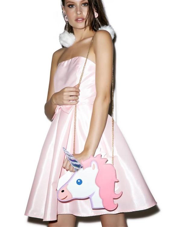 HTB1frcxMVXXXXcMXpXXq6xXFXXX2 - Unicorn Handbag women Shoulder Bag Cute