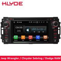 KLYDE 4G WIFI Android 8.0 Octa Core PX5 4GB RAM 32GB ROM Car DVD Multimedia Player Radio For Chrysler 300C Cirrus Aspen Sebring
