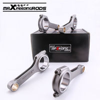 H Beam Connecting Rod For Mitsubishi 4G93 Lancer Mirage Space 1 8L 133 5mm Early Model