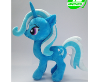 My Cute Unicorn Pvc Little Figures Plush Doll Toys Powerful Trixie Horse