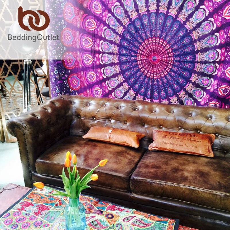 Buy beddingoutlet boho tapestry love for Indian home decor stores