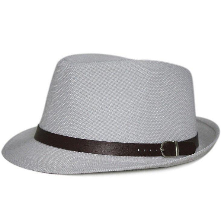 Kagenmo летняя крутая Солнцезащитная шляпа вечерние Кепка джентльмена уличный танец шляпа 11 цветов 1 шт - Цвет: 9