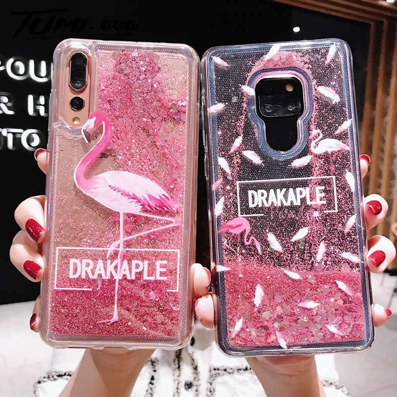 Чехол с изображением розового фламинго для huawei P30 Pro P20 Lite P10 Plus Nova 4 3 3e 3i 2 2S 2i P Smart 2019 mate 20 20X чехол