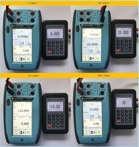 Image 4 - LB06 Hart Current voltage 4 20mA 0 10V/mV Signal Generator Source thermocouple PT100 temperature Process calibrator Tester