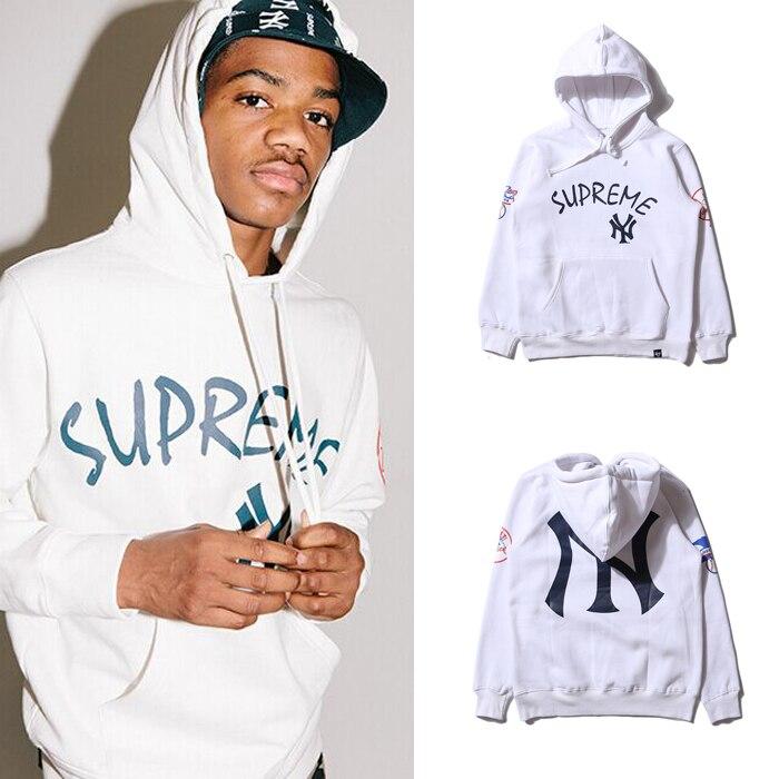 premium selection 87fd8 8ef88 2015 Mens Suprem NY Yankees Hoodies , Hip Hop Street Casual ...