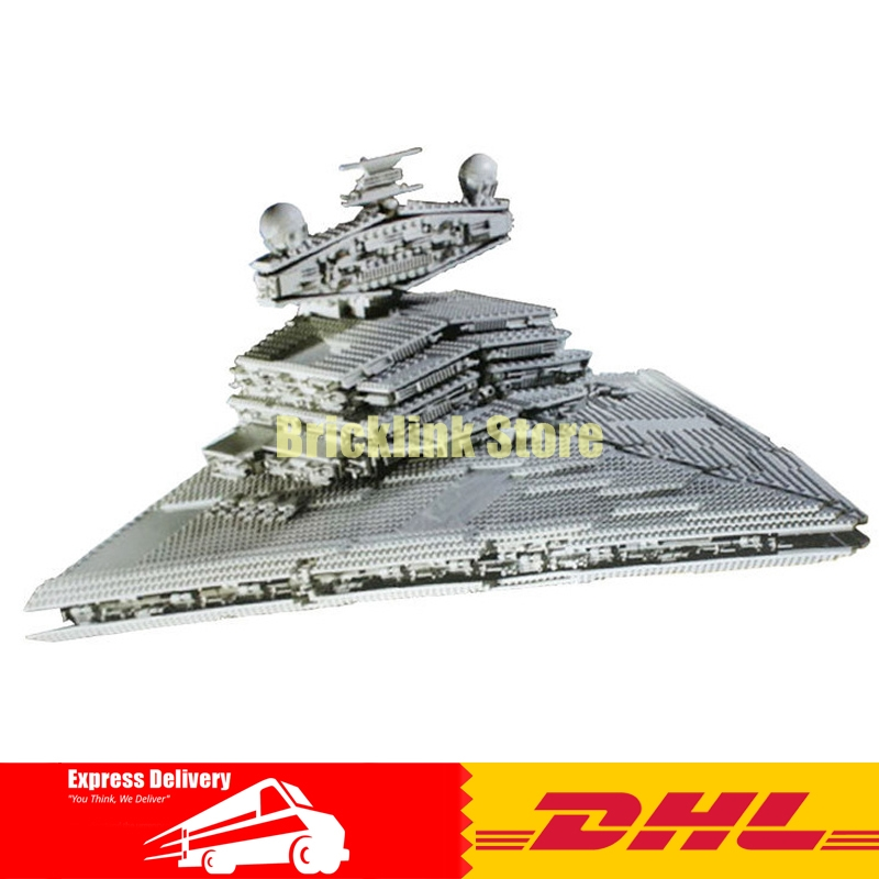 LEPIN 05027 Star Bricks Wars Imperial Executor Super Star Destroyer Model building Blocks Toys for Children Boy Gift 10221 lepin 22001 pirate ship imperial warships model building block briks toys gift 1717pcs compatible legoed 10210