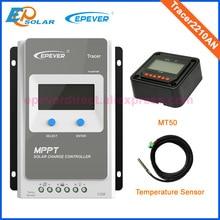 controller 24V EPEVER EPSolar MPPT solar 20A 20amp Tracer2210AN regulator temperature sensor&MT50 remote meter 12V/24V work