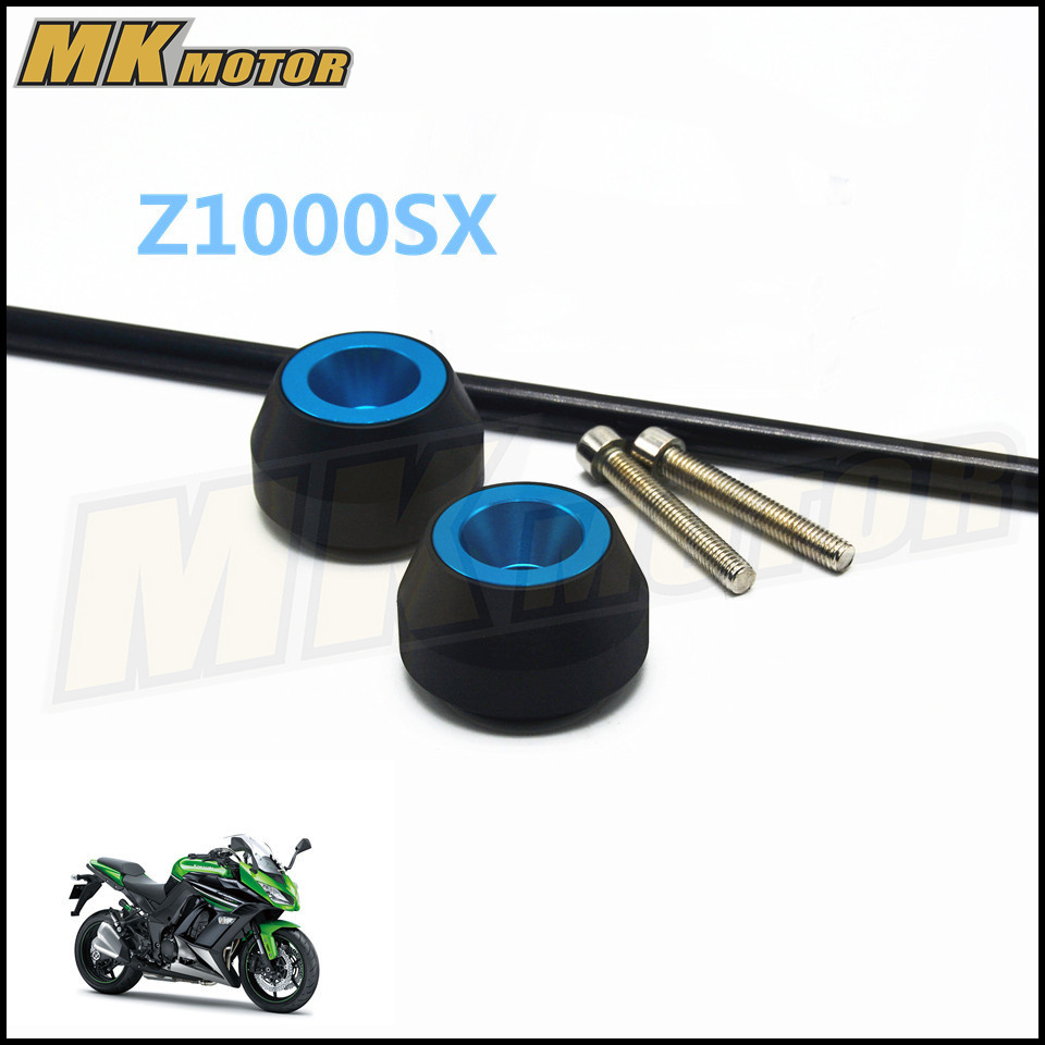 Free delivery For KAWASAKI Z1000SX 2011 2015 CNC Modified Motorcycle drop ball shock absorber in Covers Ornamental Mouldings from Automobiles Motorcycles