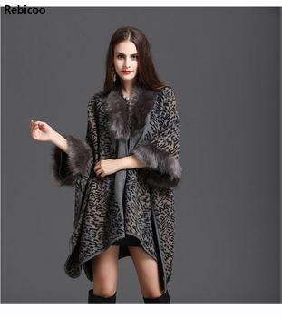 Winter women loose hooded large fur collar plus velvet thick fashion wild leopard sweater coat jacket female large real fur collar women winter coat thick warm hooded down jacket duck down loose long outwear coat outdoors