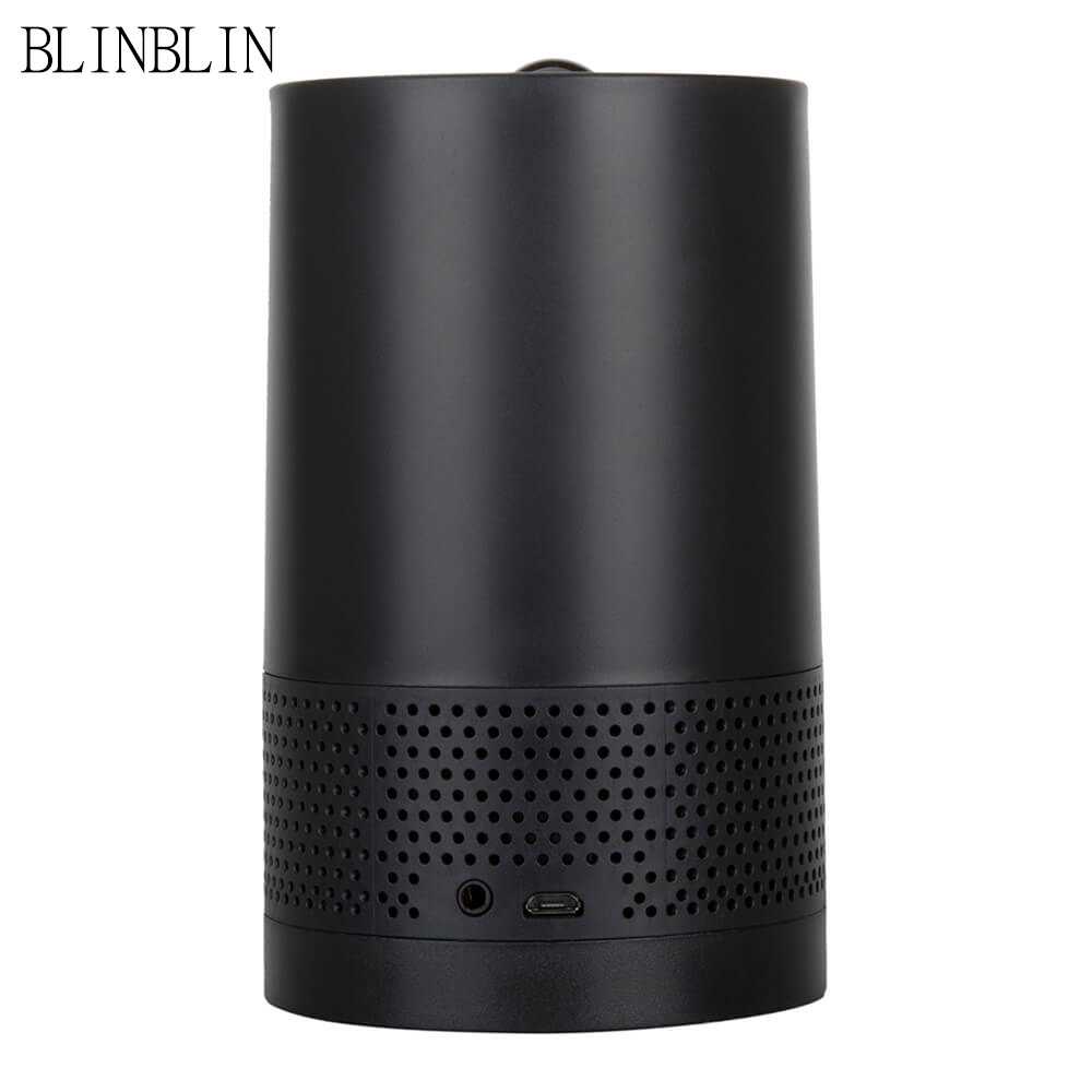 Blinblin Major 1 Portable Wireless Bluetooth Speaker with Pulse Laser Light Blue Atmosphere LED Light Built-in lithium battery jbl xtreme portable bluetooth speaker blue
