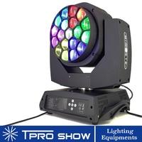 Moving Head 19x15W Big Bee Eye Beam Lyre LED Stage Light DMX Zoom Wash Effect Dj Lighting Each 2 LED Control for DJ Discl Club