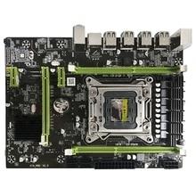 X79M Pro Motherboard For Intel Lga 2011 E5 2640 2650 2660 2680 Ddr3 1333/1600/1866Mhz 32Gb M.2 Pci-E M-Atx Mainboard new for intel g41 dvr motherboard ddr3 5 pci vga ide