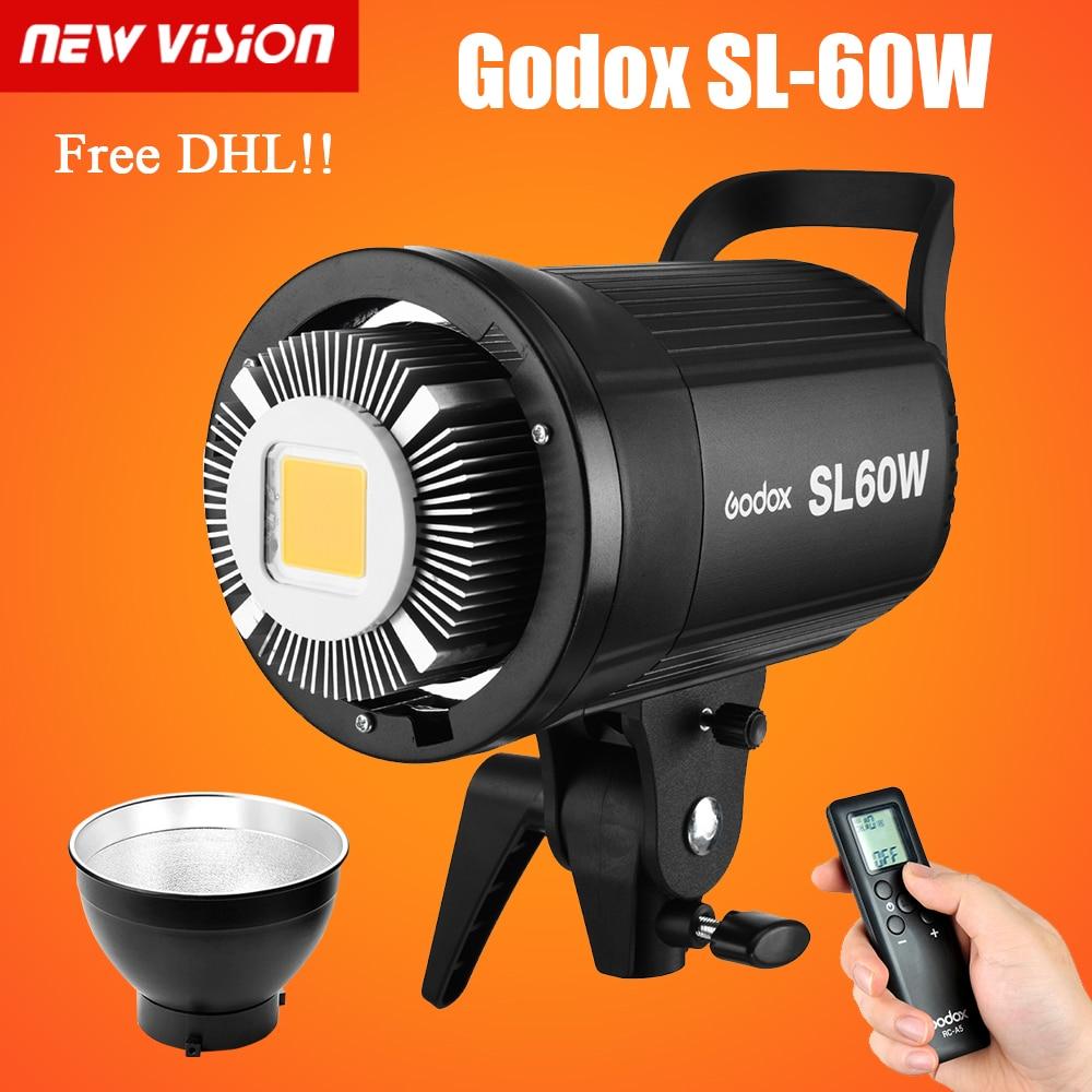 bilder für Freier DHL!! Godox SL Serie Licht SL-60W Weiß Version video licht Dauerlicht Freies verschiffen 220 V 110 V