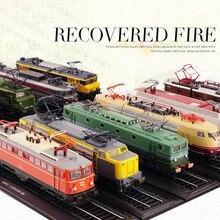 Коллекция 1/87, атлас, классический поезд, автобус, литая под давлением тележка, игрушечные модели машин, сплав, литье, тур, трамвай, автомобиль, игрушки