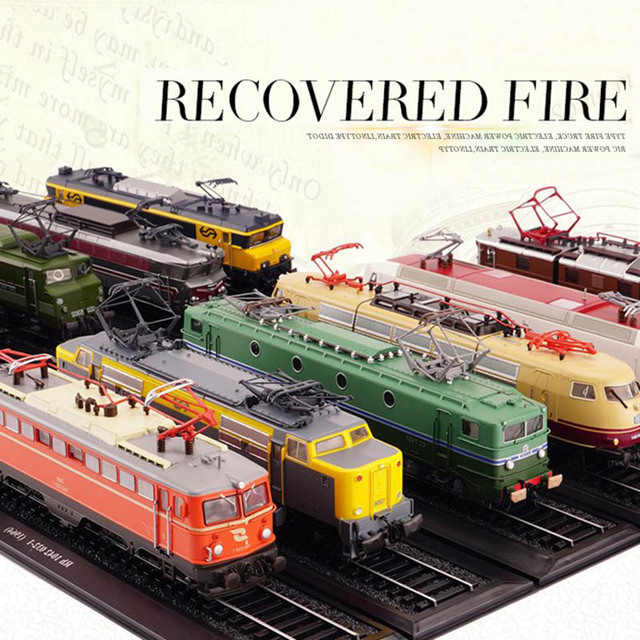1/87 Collection Atlas Classic Train Bus Diecast Trolley Model Cars Toy Vehicle Alloy Casting Tour Tram Car Toys